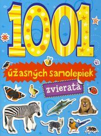 1001 úžasných samolepiek - zvieratá - autor neuvedený