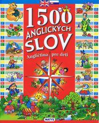 1500 anglických slov -  Angličtina pre d - autor neuvedený