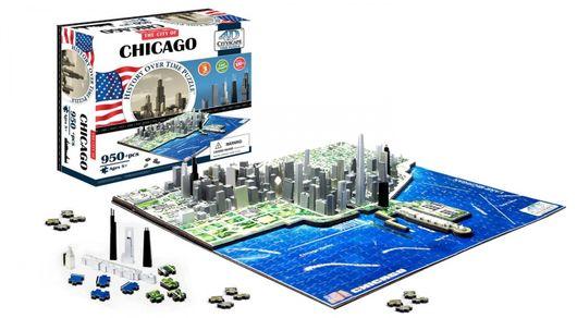 4D CITYSCAPE - 4D Puzzle - Chicago