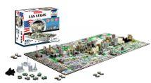 4D CITYSCAPE - 4D Puzzle - Las Vegas