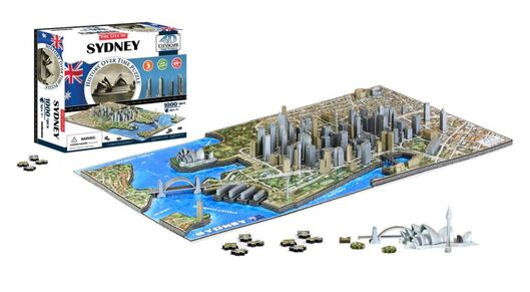 4D CITYSCAPE - 4D Puzzle - Sydney