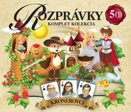 5CD BOX Rozprávky Krónerovci