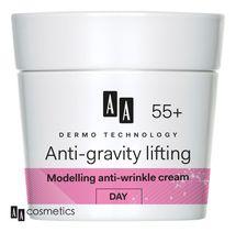 AA - Dermo Technology 55+ Protivráskový DENNÝ KRÉM s kolagénom a argánovým olejom 50ml