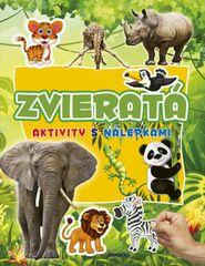 Aktivity s nálepkami: Zvieratá
