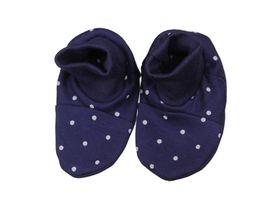 ANTONY FASHION - Bavlnené papučky - Bodka - modré