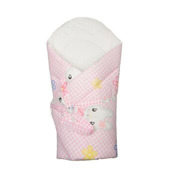 ANTONY FASHION - Zavinovačka s výstužou - Mačička ružovo-biela