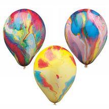 ARPEX - Balóniky nafukovacie - guľa stredná multicolor