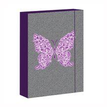 ARSUNA - Box na zošity A4 Butterfly Jeans Rey