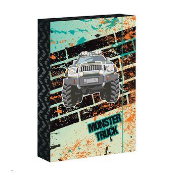 ARSUNA - Box na zošity A4 Monster Truck