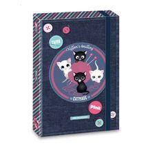 ARSUNA - Box na zošity A4 Pink