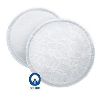 AVENT - Absorpčné vložky bavlnené - pracie - 6 ks