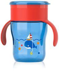 AVENT - Prvý hrnček Veľryba- modrý