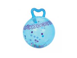 B-TOYS - Skákajúca lopta Hop n'Glow modrá