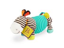 B-TOYS - Ťahacia harmonika zebra Swueezy Zeeby