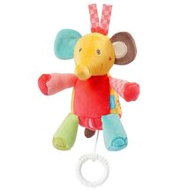 BABY FEHN - safari závesná hračka slon