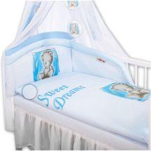 BABY NELLYS - Obliečky Sweet Dreams by Teddy - modrý