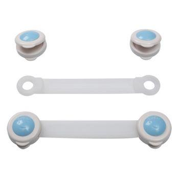 BABY ONO - Zámok univerzálny pre zásuvky a chladničky, biely