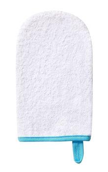 BABYONO - Handrička na umývanie, froté Biela