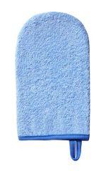 BABYONO - Handrička na umývanie, froté Modrá