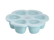 BEABA - Multi-dávkovač na jedlo 6 x 90 ml - modrý