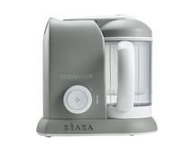 BEABA - Parný varič + mixér BABYCOOK SOLO šedý