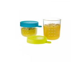 BEABA - Téglik na jedlo sklenený  2ks 150ml / 250ml