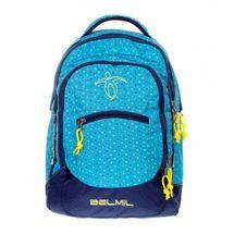 BELMIL - BelMil školský batoh 338-27 Peacock Blue