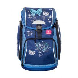 BELMIL - BelMil školský batoh 404-31 Blue Butterflie