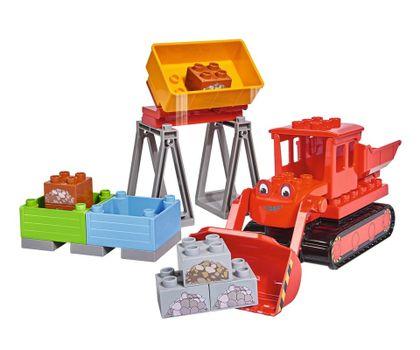 BIG - PlayBig Bloxx Bob Max červený buldozér