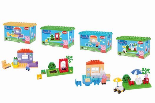 BIG - Playbig Bloxx  Peppa Pig Zákl. Set, 4 Druhy