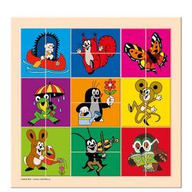 Bino - 13735 Puzzle Krtko a priatelia
