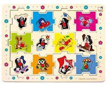 BINO - 13799 Puzzle Krtko tvary