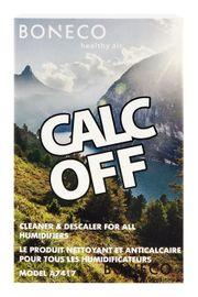 BONECO - A7417 CalcOff čistiaci a odvápňovací prípravok 3ks