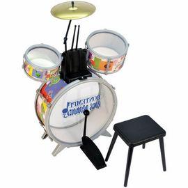 BONTEMPI - Detská bicia súprava so stoličkou 514500