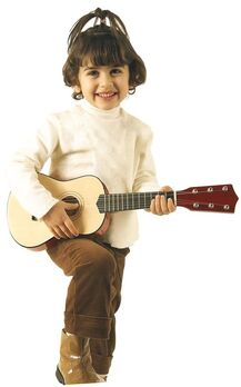 BONTEMPI - Klasická drevená gitara 55 cm 215520