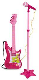 BONTEMPI - Rocková elektrická gitara s mikrofónom a stojanom 247571