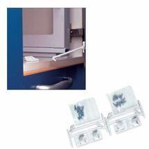 BREVI - 325 Plastová zábrana otvárania zásuviek a skriniek