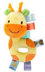 BRIGHT STARTS - Hračka plyšová hrkálka Taggies 3m+ žirafa