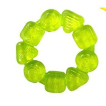 BRIGHT STARTS - Hryzačka plnená vodou, 3m+ bledo zelená