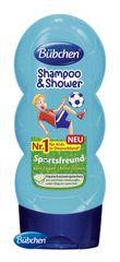 BÜBCHEN - Kids šampón a sprchovací gél 2v1 Malý futbalista 230ml