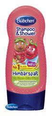 BÜBCHEN - Kids šampón a sprchovací gél 2v1 Veselá malina 230ml