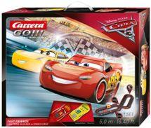 CARRERA - Autodráha Carrera GO 62419 Cars 3 Fast Friends