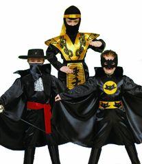 CASALLIA - Karnevalový kostým Bojovník 3v1: S