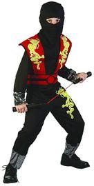 CASALLIA - Karnevalový kostým Ninja s maskou S