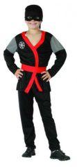 CASALLIA - Karnevalový kostým Ninja s opaskom L