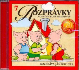 CD-Najkrajšie bájky a rozprávky(7)