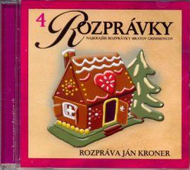 CD-Najkrajšie rozprávky bratov Grimmovcov(4)