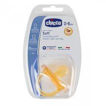 CHICCO - Cumlík celokaučukový Physio Soft 0-6m+