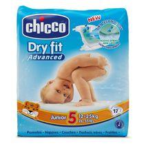 CHICCO - Plienky Junior 12-25kg 17ks