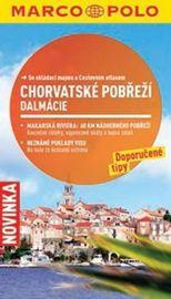 Chorvatské pobřeží, Dalmácie - Průvodce se skládací mapou